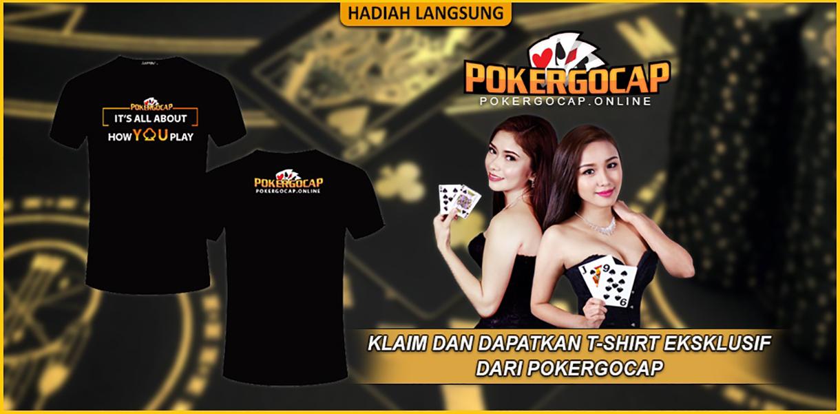 promo tshirt pokergocap