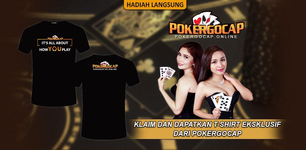 Promo Tshirt Gratis Situs Poker Online