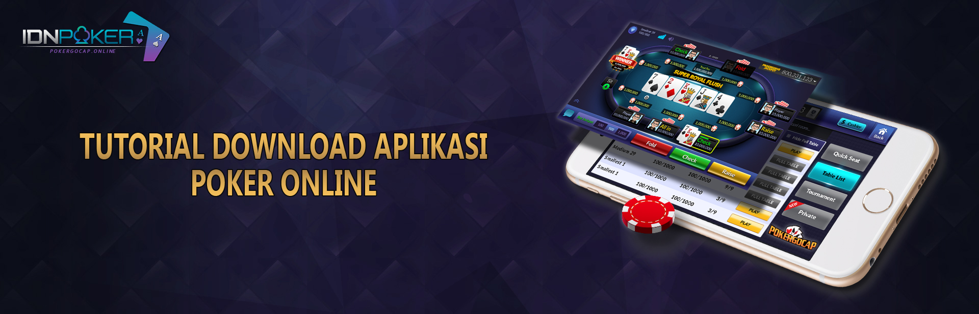Tutorial Download Aplikasi Poker Online