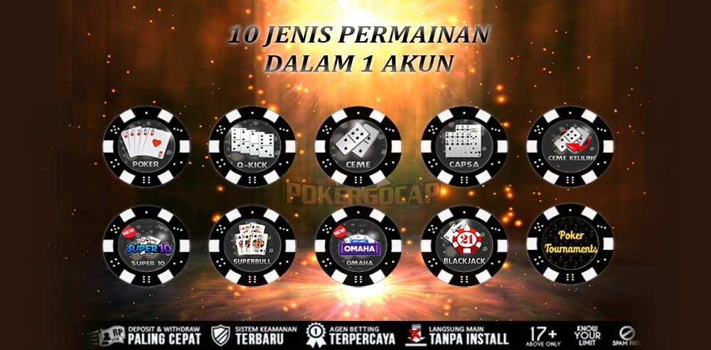 10 jenis permainan idn poker indonesia